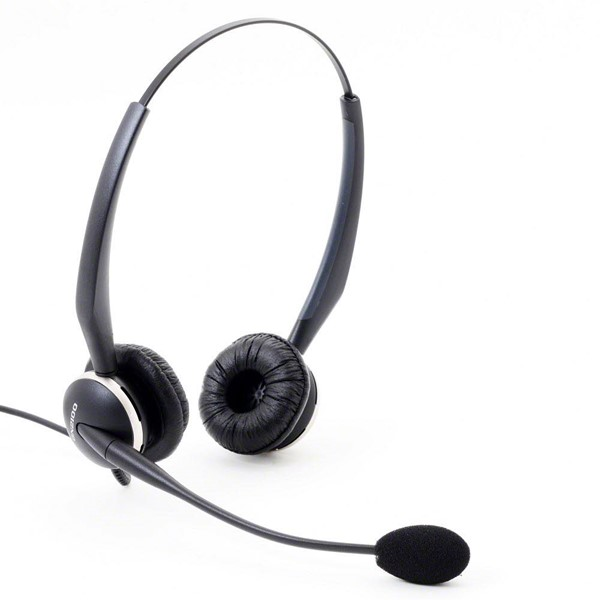 Bild von Jabra GN 2100 Flex-Boom Duo / Headset / On-Ear / Kabelgebunden / 2129-82-04